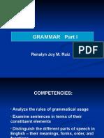 1 Grammar 1