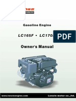 LC165F、LC170F Owner's Manual