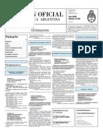 Boletin Oficial 29-06-10 - Tercera Seccion