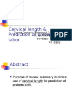 Cervical Length Ultrasound
