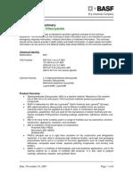 MDI Product Safety Summary