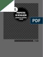 Propostas de Resolução Do Caderno de Exercícios e Testes