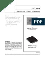 Stv7610_plasma Display Panel Scan Driver