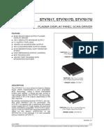 Stv7617_plasma Display Panel Scan Driver