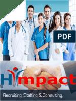 Business Proposal Health Care Cector   Recruiter of Doctors - hiimpact Consultants