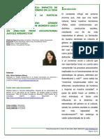 Revision Bibliografica Impacto De Los Estereotipos De Género en la ocupación