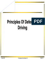 1A 3 2 Principles Defensive Driving