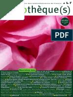 Bibliotheque(s), n.º 81/82 (décembre 2015)