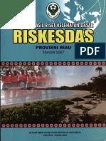 Riset Kesehatan Dasar (RISKESDAS) 2007