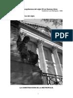 Introducción a La Arquitectura Del Siglo XX en Buenos Aires - Cap.1