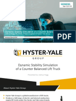 2_Dynamic Stability Simulation of a Counter Balanced Lift Truck