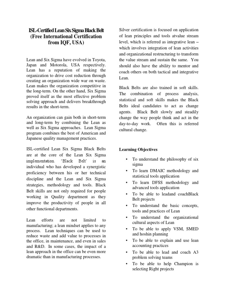 Leanblackbeltpdf lean manufacturing design for six sigma 1betcityfo Choice Image