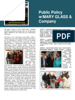 Newsletter 1 - Pp - Public Policy w/MARY GLASS & Company