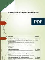 UNIT 1 Knowledge Management