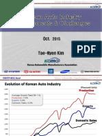 1. 151021-Korean Auto Industry(GENIVI)-Kim