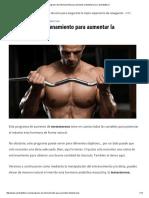 Programa de Entrenamiento Para Aumentar La Testosterona _ Cambiatufisico