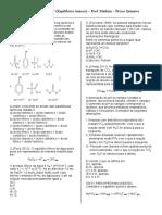 Curso Vetor – TD 07 (Equilíbrios Iônicos) – Prof. Markim – Físico Química