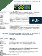 08-31668482 Biofuel From Cyanobacteria