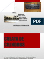 Culata de Cilindros Grupo 1