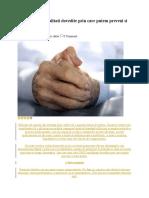 Cele CINCI Modalitati Dovedite Prin Care Putem Preveni Si Trata Artrita