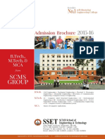 SCMS Engineeing College Brochure 2015