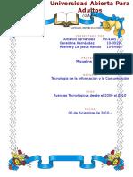 Avances Tecnologicos Desde 2000 Al 2010