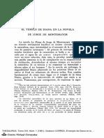 Templo de Diana en La Novela de Jorge de M - CORREA, Gustavo