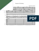 Example 2 Texturklang- Full Score