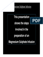 B43. Magnesium Sulphate Powerpoint Presentation