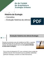 Historia Da Ecologia