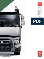 Renault Trucks t Gamme Longue Distance Fr France 2016