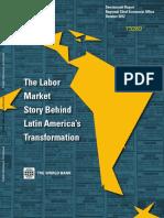 the labor market story behind latin america'stransformation