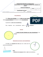 Círculo e Circunferência Matemática 6º ano