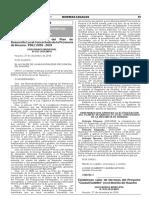 Aprueban actualización del Plan de Desarrollo Local Concertado de la Provincia de Huaura - PDLC 2016 - 2021