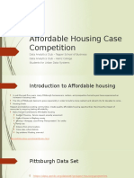 Affordable Housing Case Competition