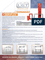Junstas de Expansão Servflex