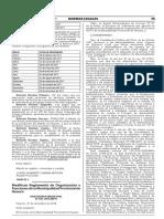 Modifican Reglamento de Organización y Funciones de la Municipalidad Provincial de Huaura