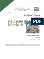 2 Memoria Técnica Iglesia Alamor
