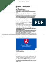 Angular 2_ a Guide for Beginners - DZone Web Dev