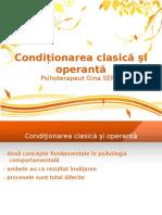 2. Prezentare- Conditionare