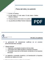 Tema 5. Fisica Del Oido y La Audicion