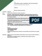Geração de Senha Automática Pelo Cadastro de Funcionários - Linha Microsiga Protheus - TDN