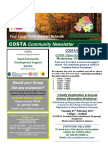 COSTA Newsletter - Jan 2017