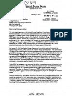 Senators Markey + Warren put FERC on Notice