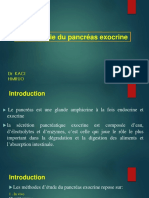 Physiologie Du Pancreas Exocrine