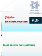 H C Verma Solution_Friction