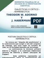 Adorno y Habermans