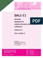 Ail Dalc-c1 Test Modello 9