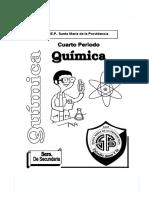 Quimica 3ero 4bim 2009