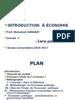 Cours Introduction à l'économie
